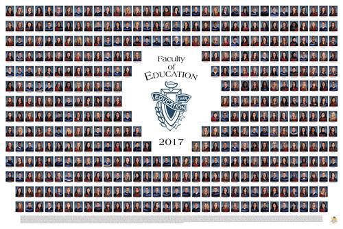 Education 2017 Graduation Photo Composite