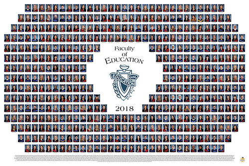 Education 2018 Graduation Photo Composite