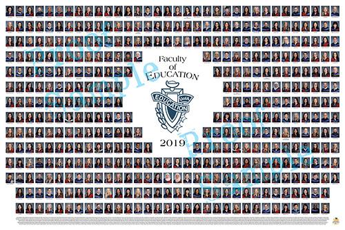 Education 2019 Graduation Photo Composite
