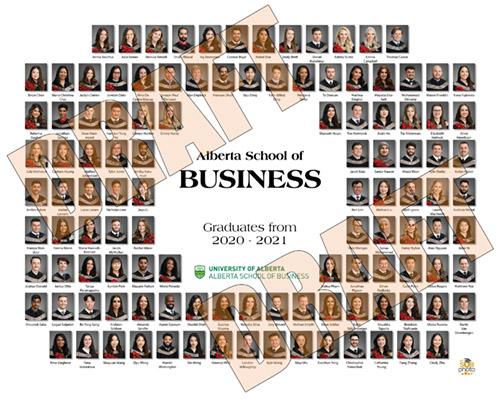 Business 2021 Graduation Photo Composite