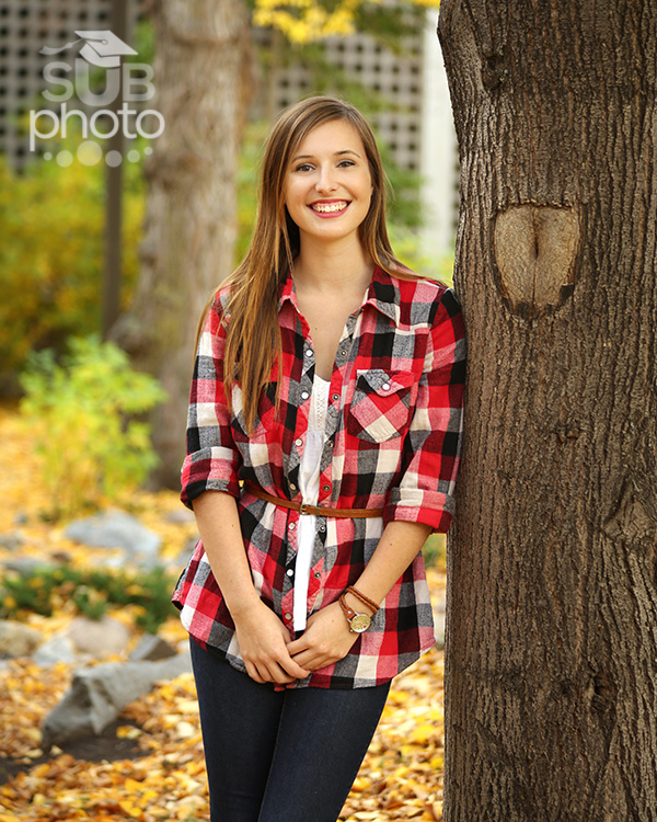 Outdoor Portrait in Edmonton